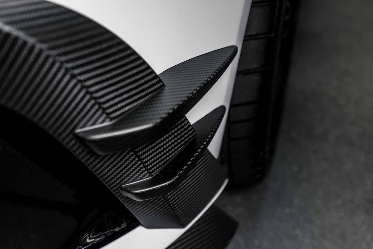 Audi Sichtcarbon Seitenleiste im SCEND Tuningkonzept Carbon Beast