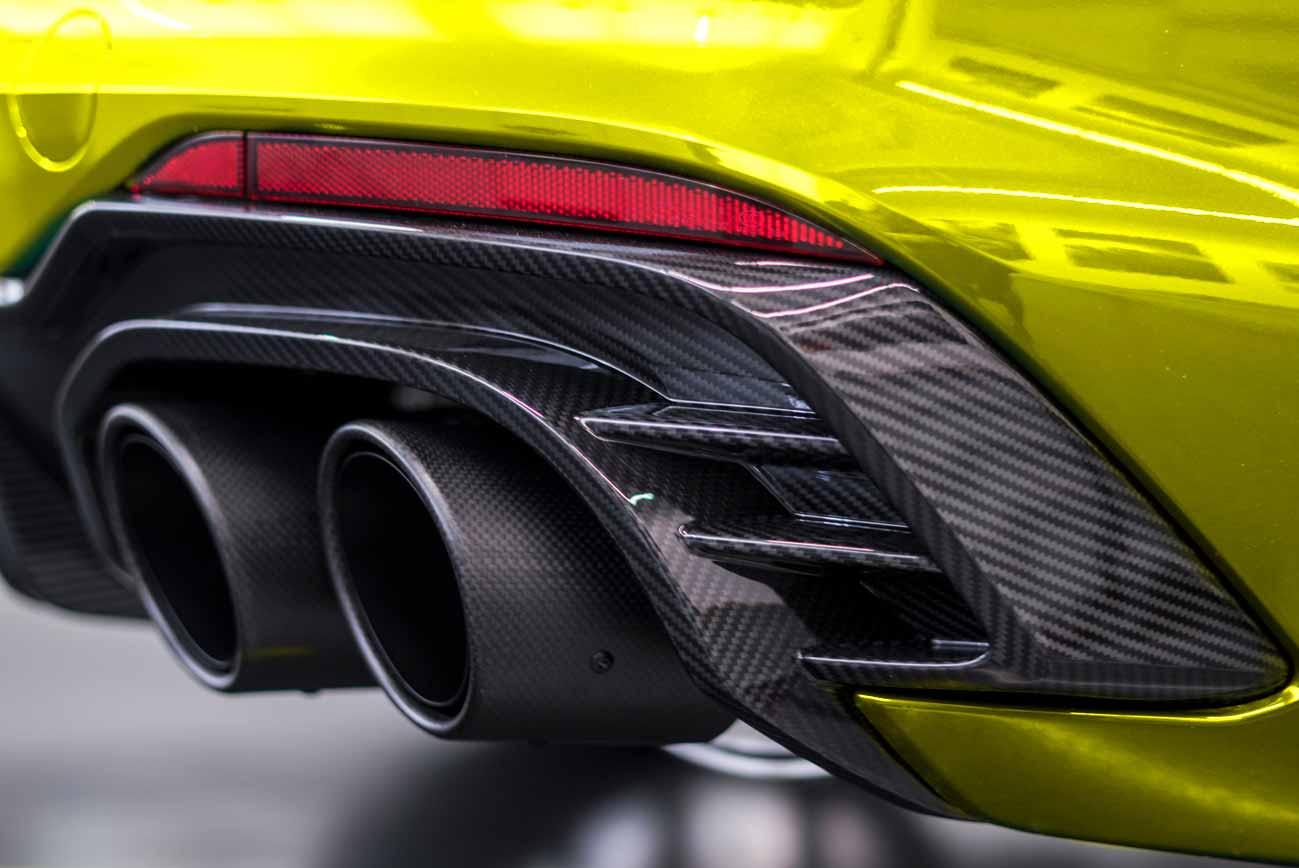 Audi Heck im SCEND Tuningkonzept Carbon Beast