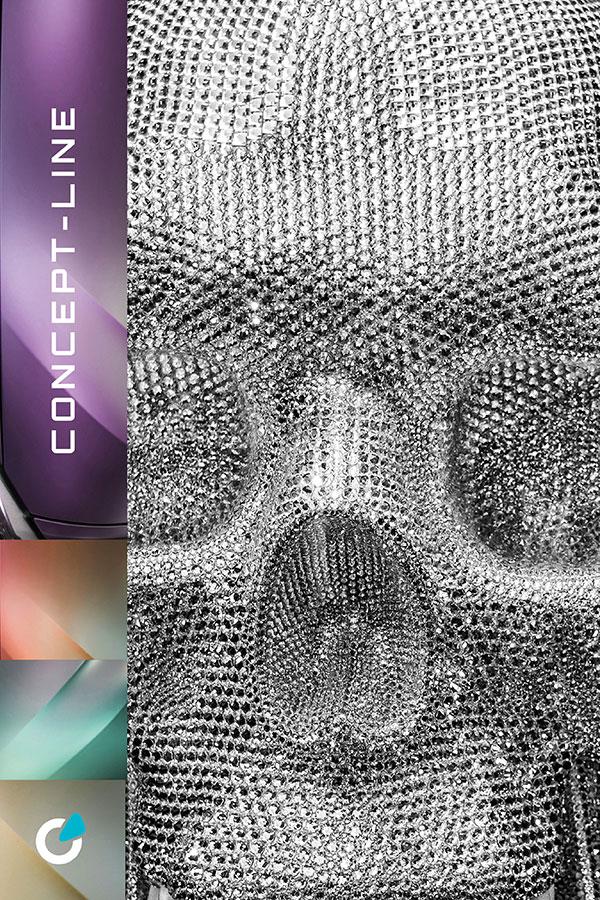 Mercedes AMG Tuning Konzept Metallic Pastell von SCEND Tuning Inspiration, Metalloberfläche