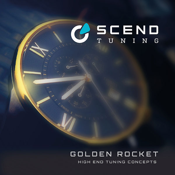 Mercedes G Klasse Tuning Konzept Golden Rocket von SCEND Tuning, Leistungssteigerung, Chiptuning von Startech, Brabus Group, Ansicht goldene Uhr