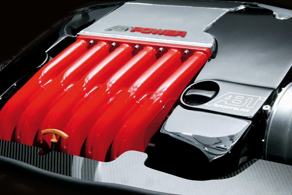 Motorrad eines Audi R5 TDI