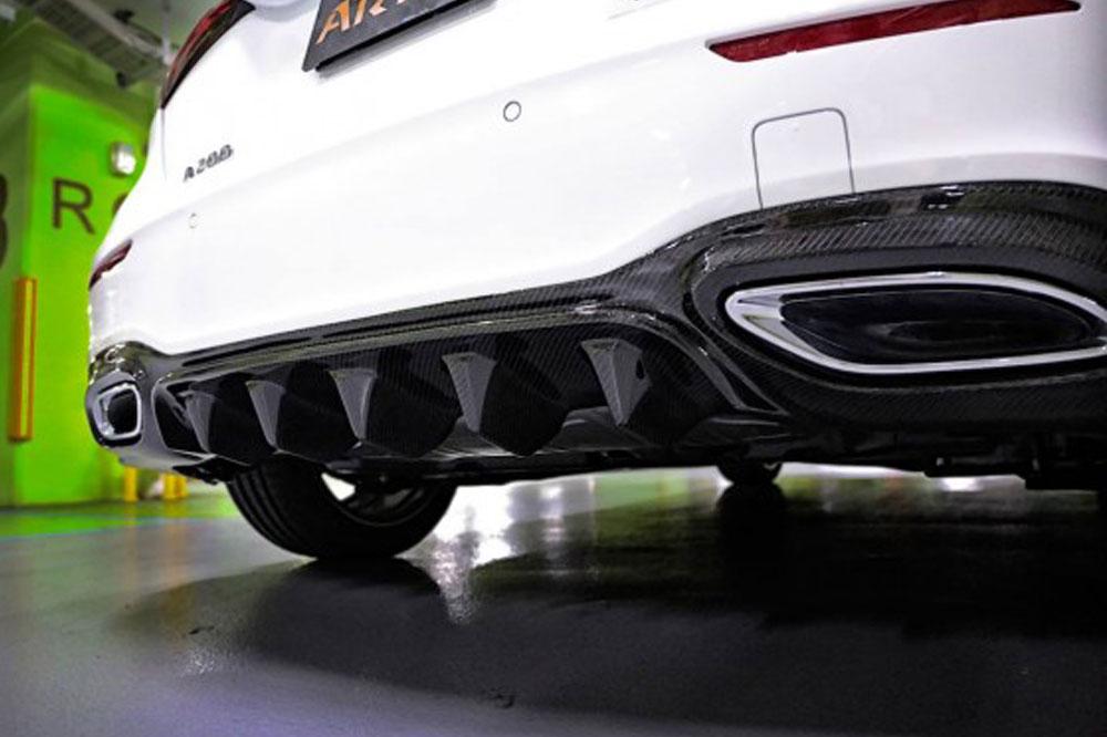 Audi Spiegelkappe Sichtcarbon im SCEND Tuningkonzept Carbon Beast