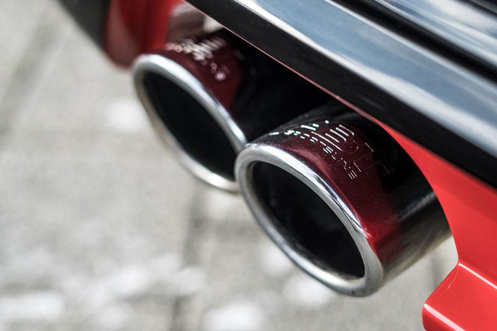 VW T6 Tuningmodule ABT Doppelendrohre
